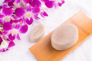 สบู่โมเน่ สูตรกล้วยไม้Natural Mineral Soap